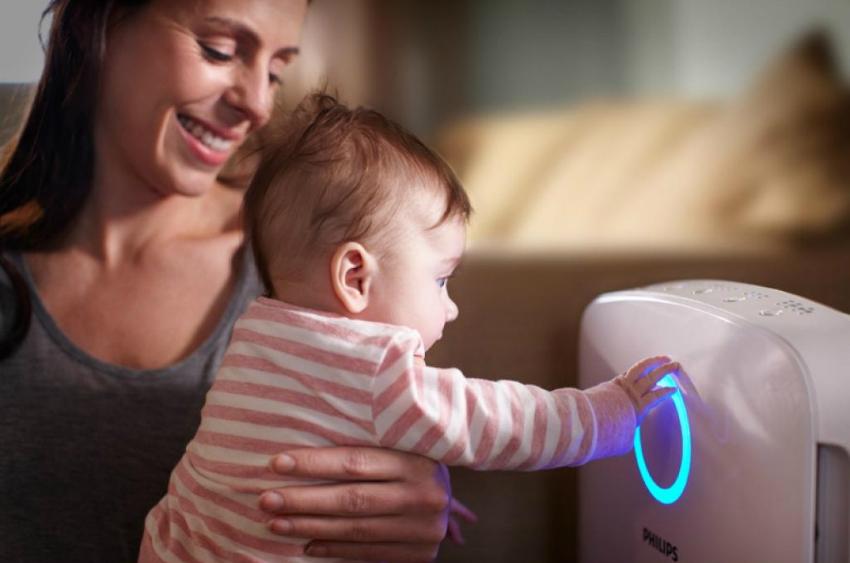 Увлажнитель воздуха для детской комнаты поможет создать комфортные климатические условия
