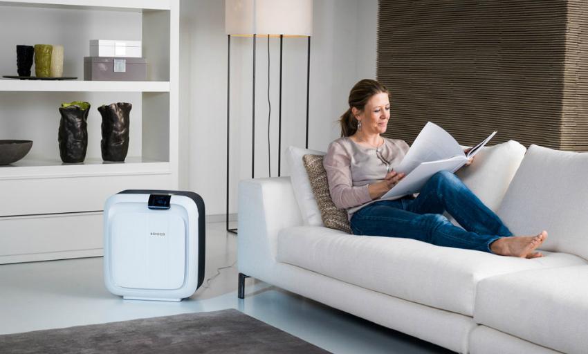 Использование увлажнителей с функцией очистки воздуха снижает вероятность распространения простудных заболеваний
