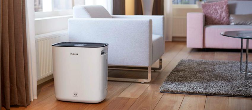 Количество осадков, которое образуется на поверхности мебели, зависит от качества используемой в приборе воды