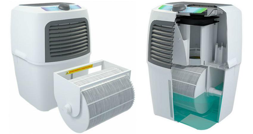 Увлажнитель российского производства FANLINE VE-200 можно заправлять обычной водой из-под крана