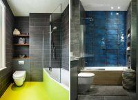 Размер плитки необходимо выбирать исходя из размеров ванной комнаты для того, чтобы избежать некрасивых стыков и большого количества обрезков