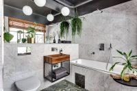Дизайн ванной комнаты в стиле модерн