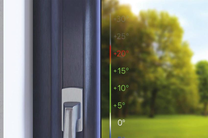 В стеклопакете смарт-окна стекло нагревается электиричеством, подведенным к оконной конструкции