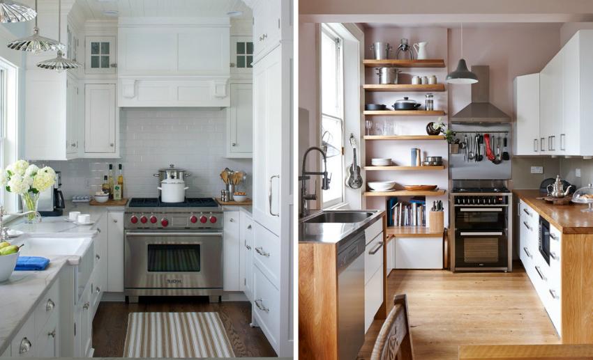 Для облицовки стен кухни используется специальная тонкая керамическая плитка