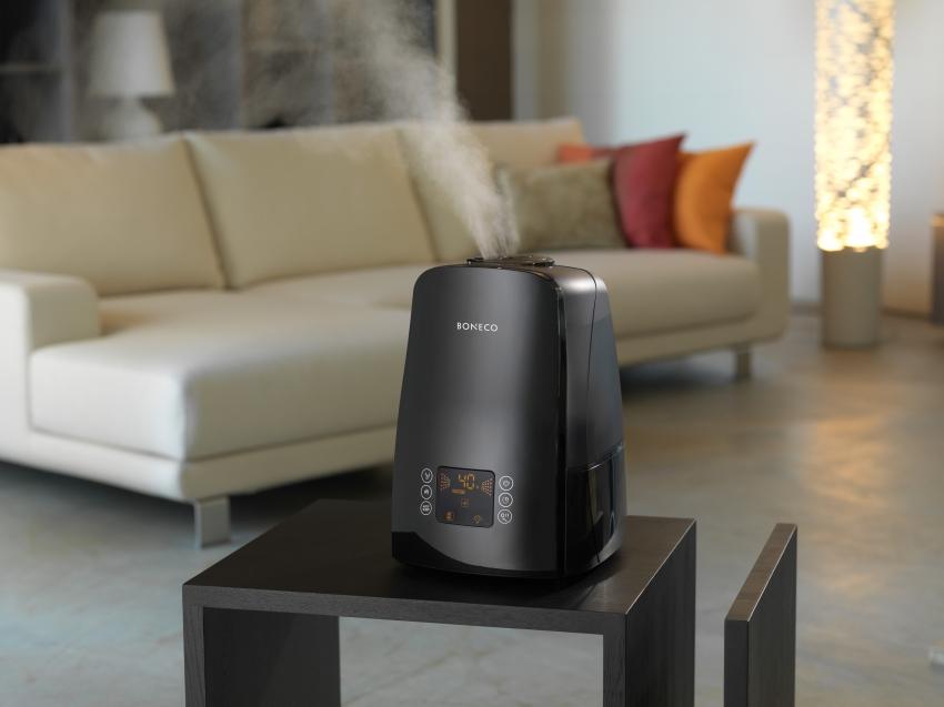 Ионизаторы марки BONECO совмещают несколько функций - озонацию, увлажнение и фильтрацию воздуха