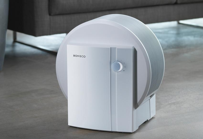 Очиститель воздуха BONECO 1355N может охватить пространство до 50 м²