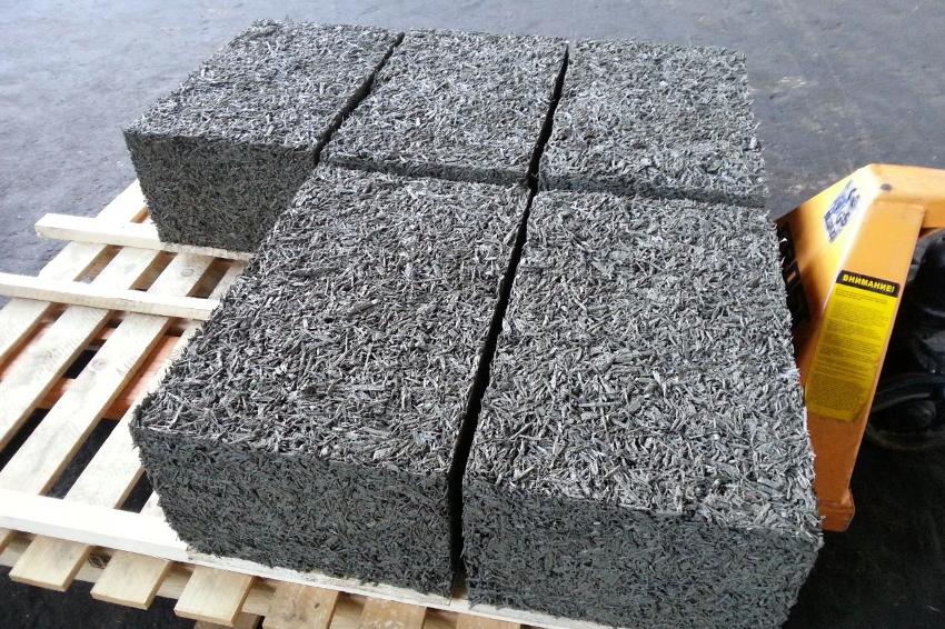 Арболитовые блоки являются экологически чистым строительным материалом
