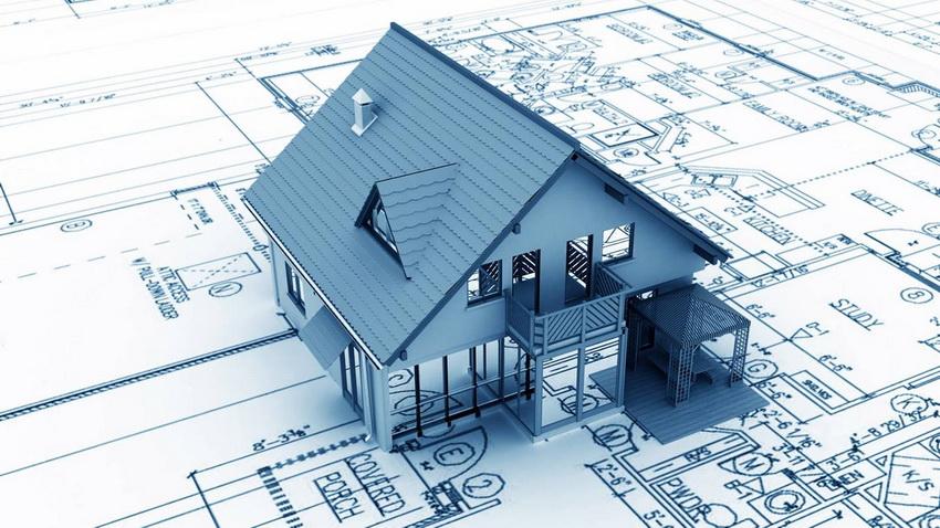 Не только будущее строение, но и сам участок требует предварительной разметки и прорисовки схемы