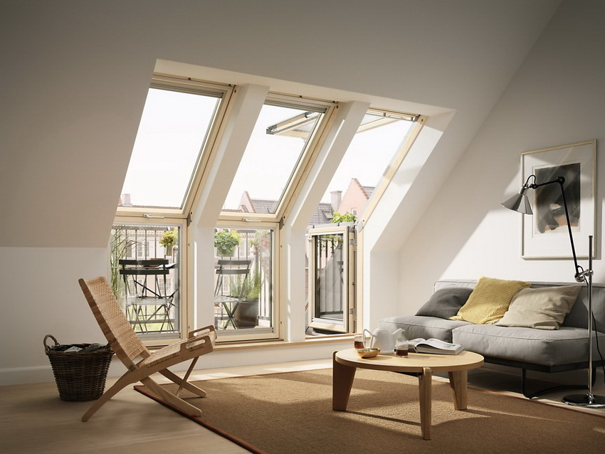 Наличие мансардного этажа – преимущество для маленьких домов