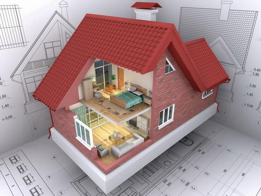 Традиционно в двухэтажных домах наверху обустраиваются личные комнаты, а внизу общие и хозяйственные помещения