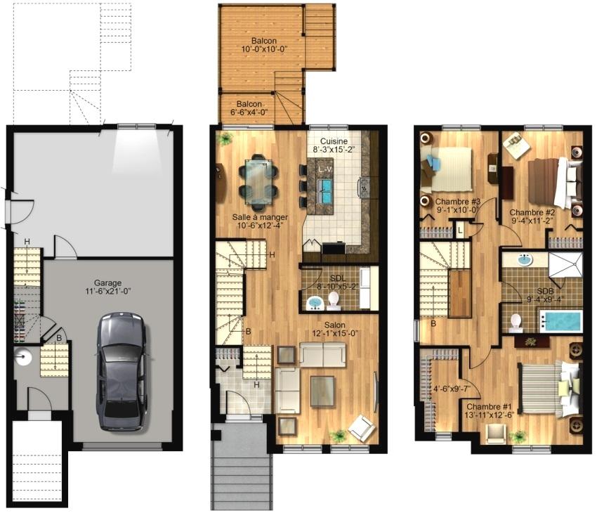 Планировка частного дома позволит грамотно расположить все постройки на участке и организовать внутреннее пространство