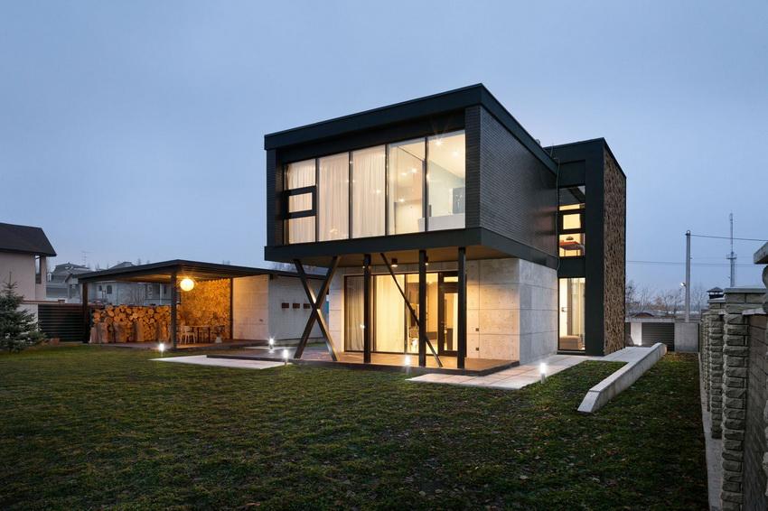 Четкие формы, простота и лаконичность – основная концепция современных зданий