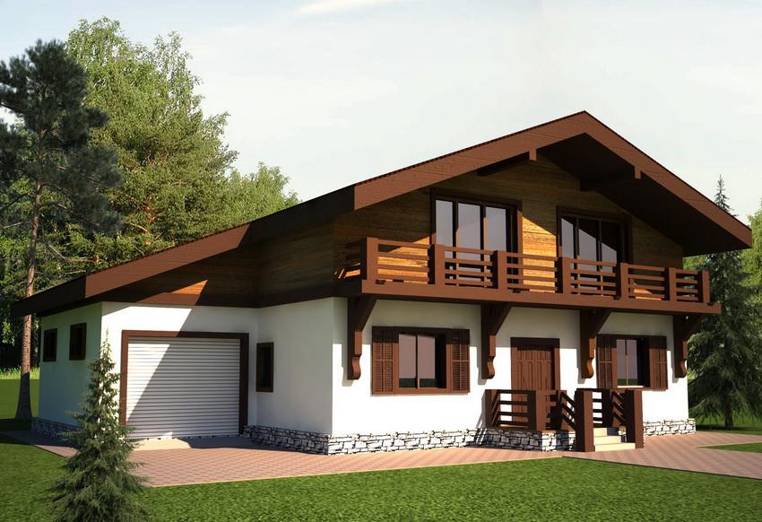 Функциональный и комфортный проект с интересным архитектурным решением