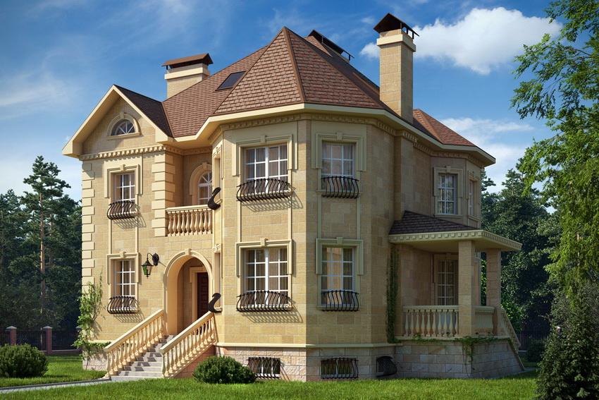 Правильная планировка дома обеспечит максимальное проникновение солнечных лучей внутрь помещений