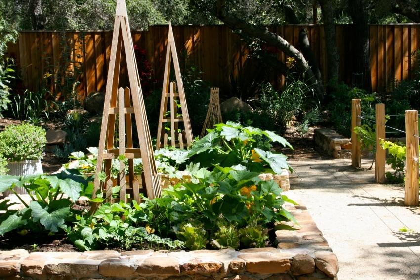 Идеи для дачи и сада своими руками фото грядки и клумбы 20