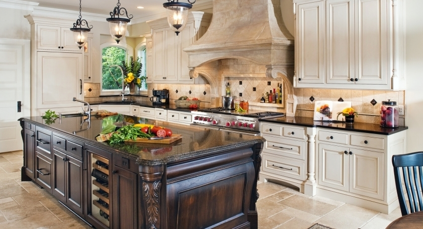Classic kitchen: photo examples of perfect room design