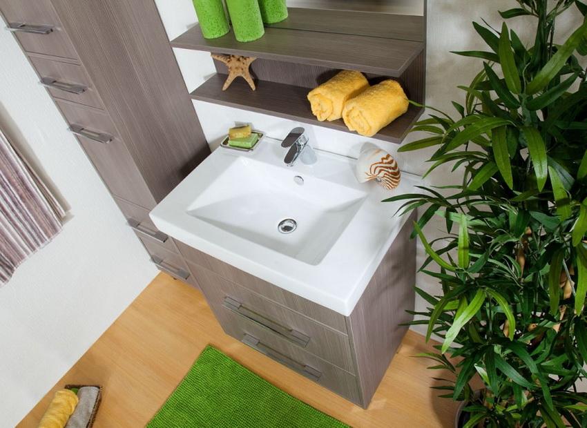 Мебель из ЛДСП способна выдержать воздействие пара, воды и значительные перепады температуры