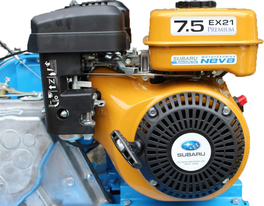 Двигатель Субару 7,5 л.с эффективен в использовании в любое время года