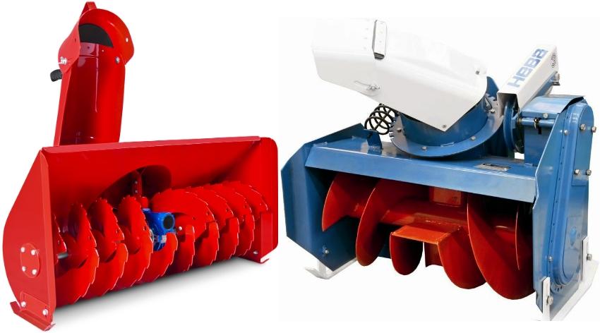 Насадки для уборки снега можно изготовить самостоятельно или приобрести в специализированных магазинах