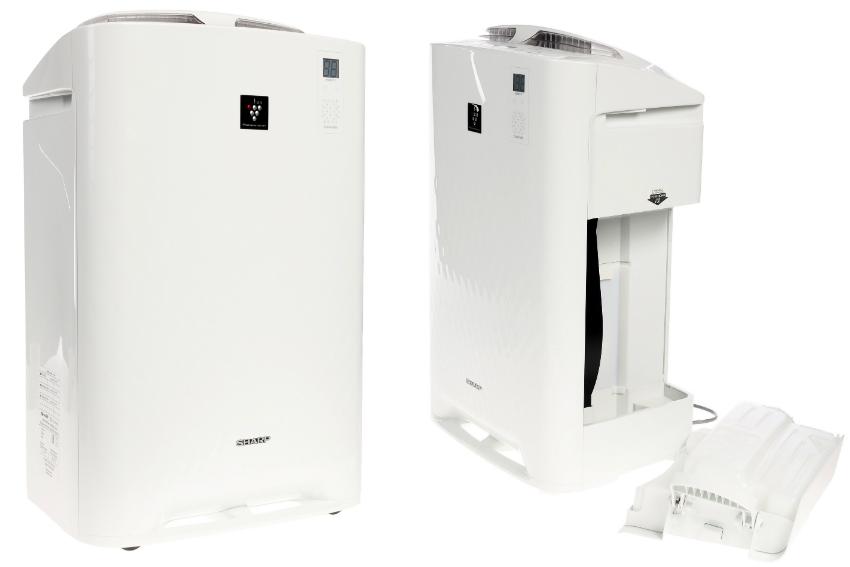 Очиститель Sharp KC-D61RW оснащен современной и эффективной системой очистки воздуха НЕРА