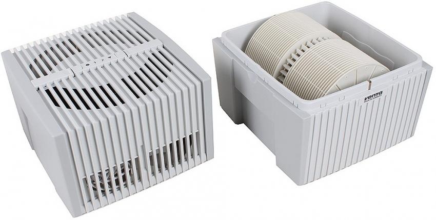 Модель Venta LW15 предназначена для очисти и увлажнения воздуха в небольших помещениях