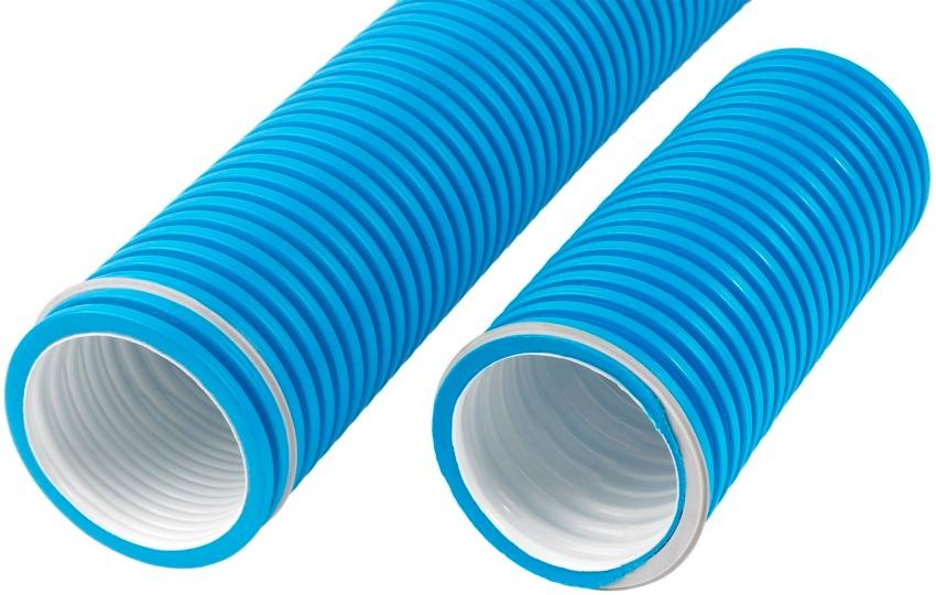 Пластиковый воздуховод радиальный полужесткий 75 мм