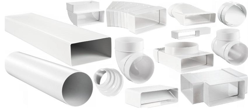Пластиковые воздуховоды отличаются невысокой стоимостью, отсутствием коррозии, лёгкостью монтажа