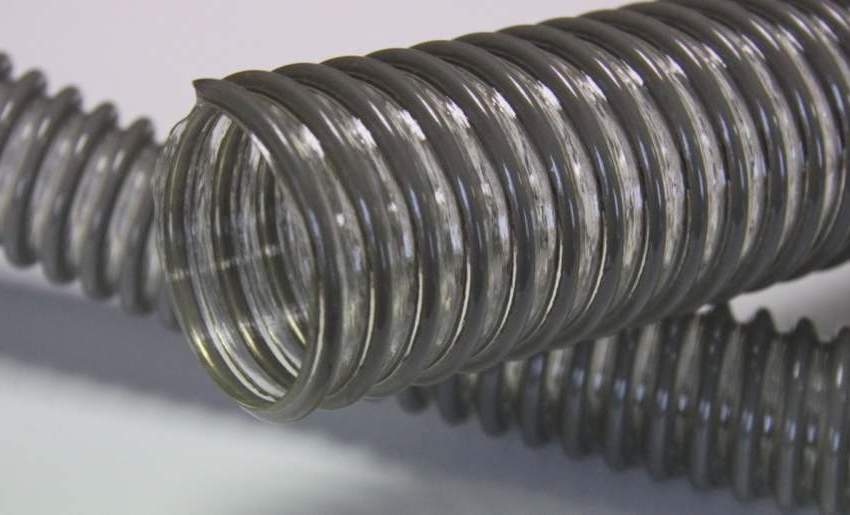 Шланги для системы вентиляции имеют лёгкий вес и высокие параметры гибкости