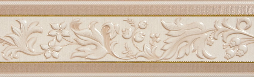 Керамический бордюримеет многообразие расцветок и фактур и отлично вписывается в интерьер ванной комнаты