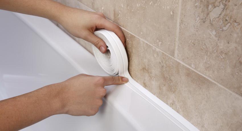 Современное и простое решение для герметизации - плинтус для ванны