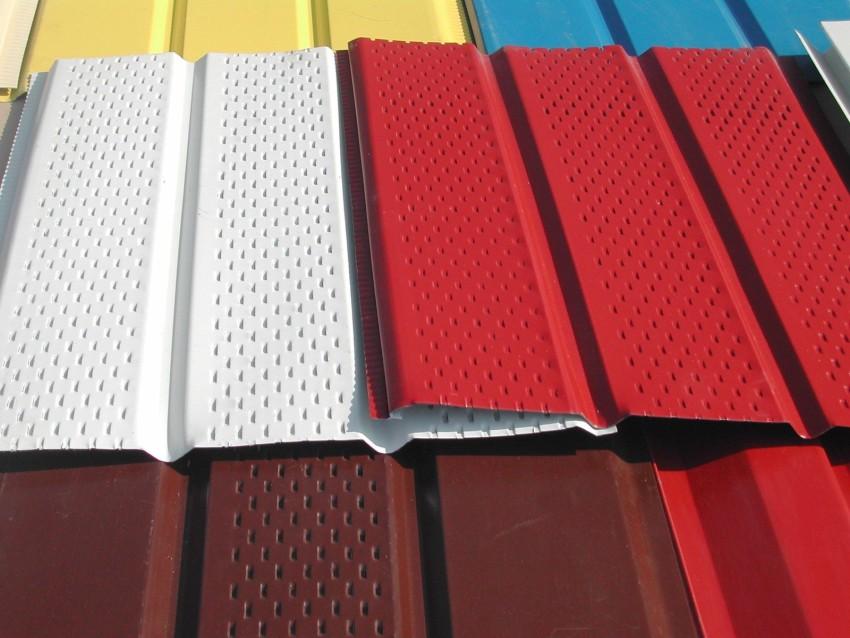 Софиты для подшивки кровли: размеры, цены и краткий обзор разновидностей