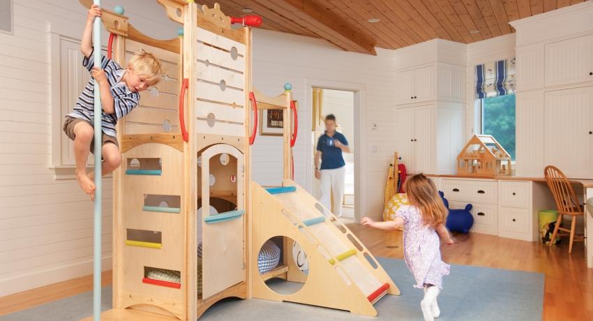 Спортивный уголок для детей в квартире: как правильно организовать пространство