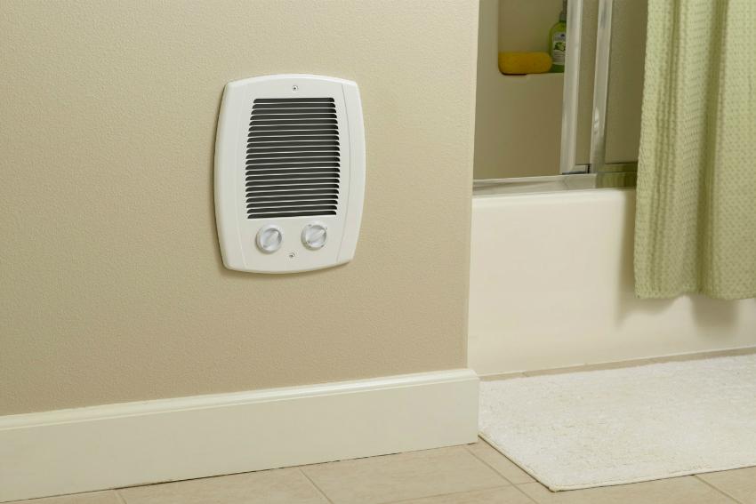 Выбрав подходящий вентилятор для вытяжки, можно органично вписать его в дизайн ванной комнаты