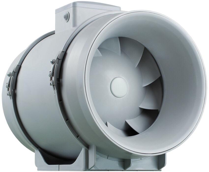 Бесшумный канальный вентилятор