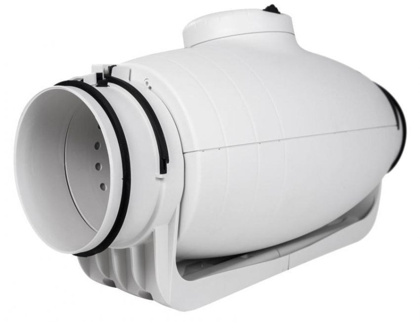 Бесшумный канальный вентилятор Silent от испанского бренда Soler&Palau эффективен для установки в ванной комнате или в кухне