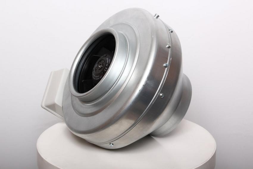 Канальный вентилятор с оцинкованным корпусом используется в основном на промышленных предприятиях
