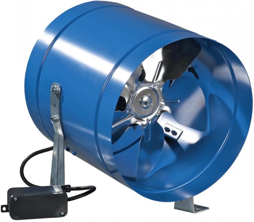 При выборе вентилятора стоит обратить внимание на такие характеристики, как мощность и уровень шума при работе
