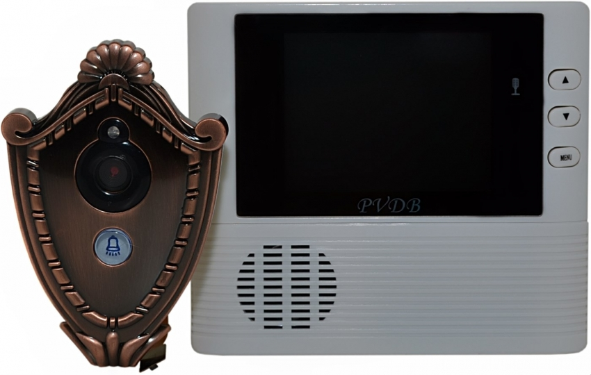 Современный видеоглазок способен записывать на видео и фотографировать посетителей