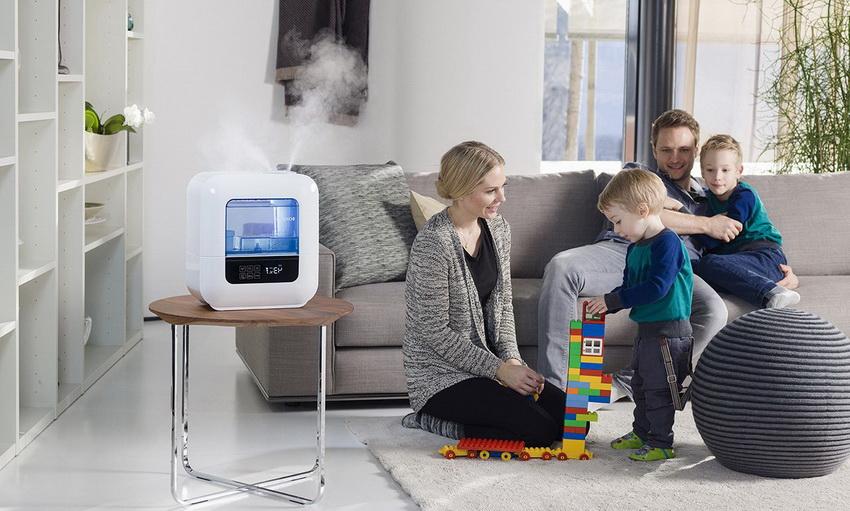 Для жилых помещений рекомендуется приобрести увлажнитель воздуха