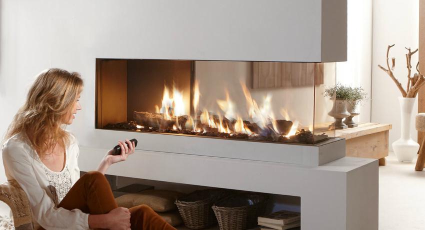 Электрокамины с эффектом живого огня: изящное украшение интерьера