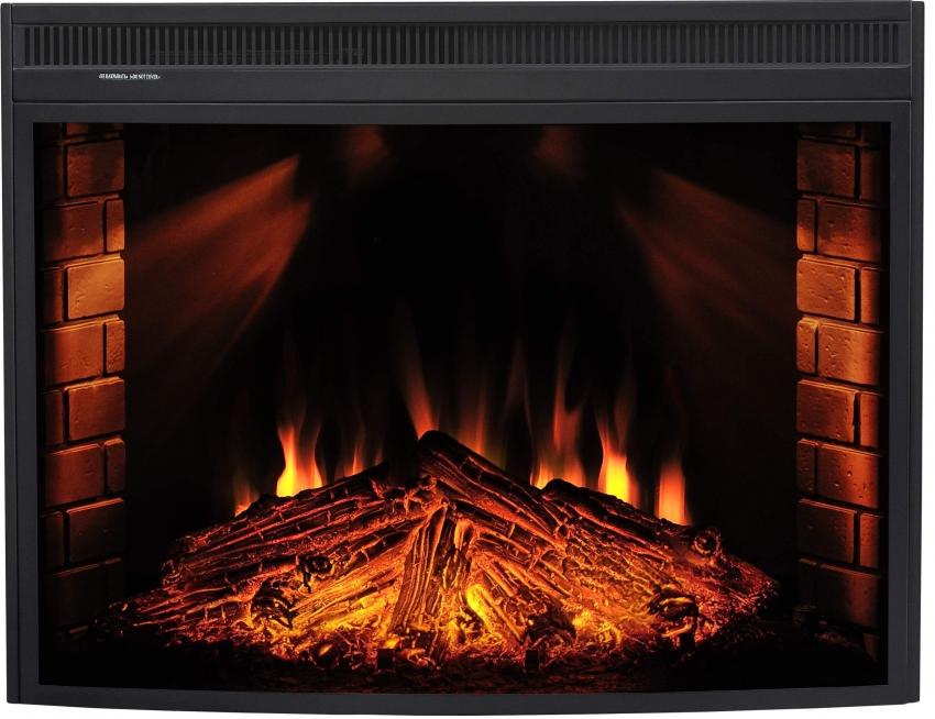 Электрокамины от компании Panoramic отличаются доступной стоимостью и искусным оформлением имитации поленьев в огне