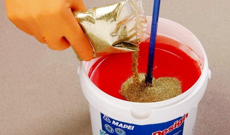Как самому сделать эпоксидную краску