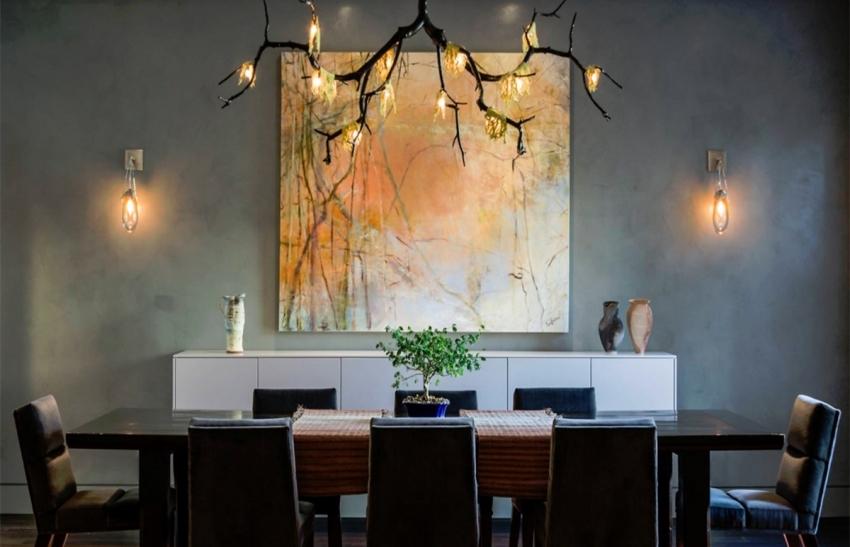 Перед покраской стен стоит просмотреть фото примеров с использованием фактурной краски
