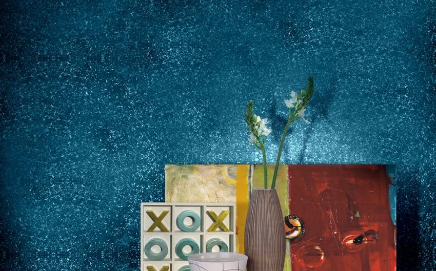 Для создания особых эффектов при использовании текстурной краски необходимо пользоваться дополнительными инструментами - валиком, губкой или специальным шпателем