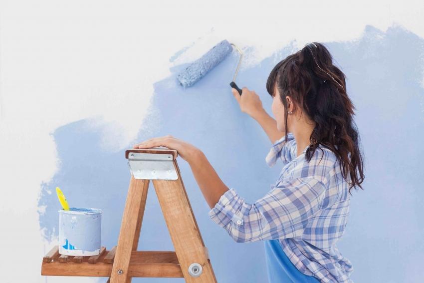 В зависимости от желаемого результата, при покраске можно использовать несколько видов инструментов и подручных материалов