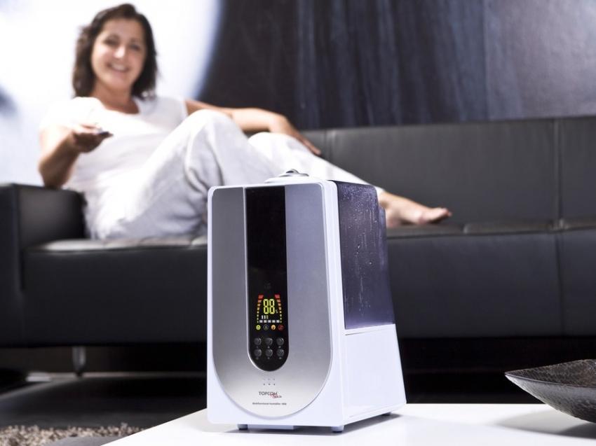 Ионизатор воздуха насыщает кислород позитивно заряженными частицами, которые необходимы человеку для нормального функционирования организма