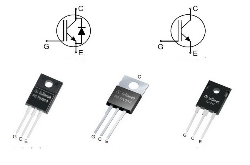 IGBT-транзисторы с напряжением коллектор-эмиттер