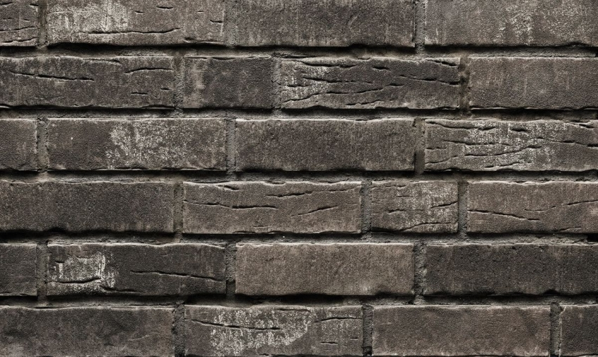 Клинкерная плитка ручной работы от компании Stroеher имитирует старинную каменную кладку