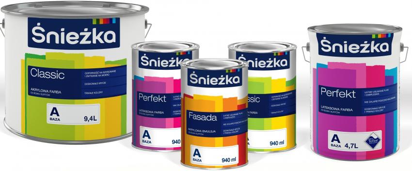 Краска Sniezka является бюджетным, качественным и довольно популярным вариантом для отделки потолка