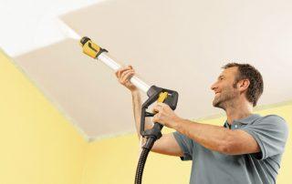 Краска для потолка: существующие виды и нюансы выполнения покрасочных работ